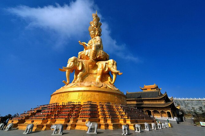 950 USD Per Group 3-days Emei Mountain+Leshan Giant Buddha private tour