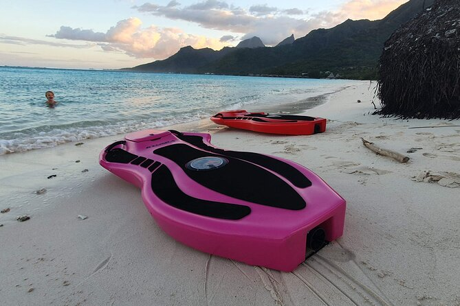 Electric bodyboard rental in Moorea-Maiao