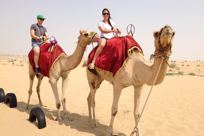 Desert Safari with BBQ Dinner and Camel Ride in Dubai
