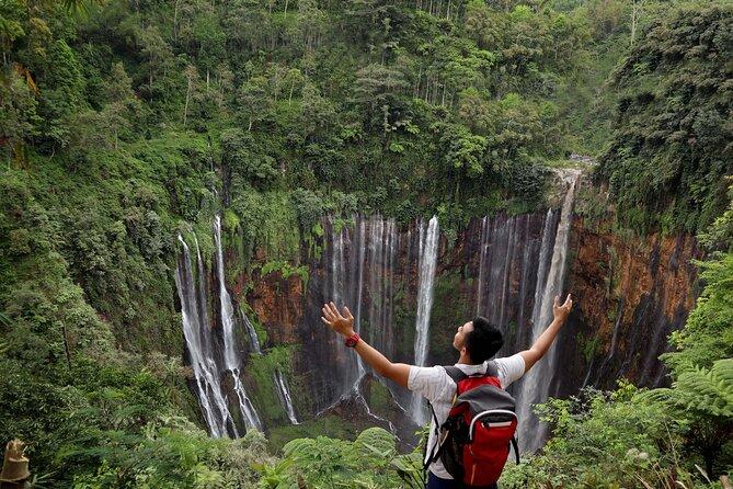 1 Day - Tumpak Sewu Waterfall and Goa Tetes Cave Trekking // 07:00 - 17:30