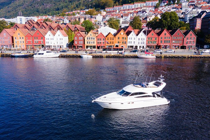 Champagne cruise on the Fjords of Bergen