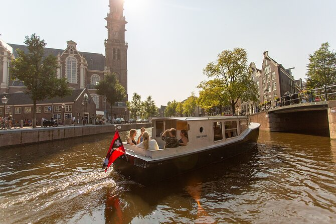 Amsterdam Canals Small-Group Boat Tour with Captain Jack