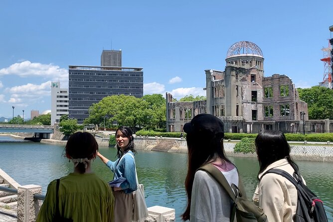 Peace Park Tour at Rest House in Hiroshima