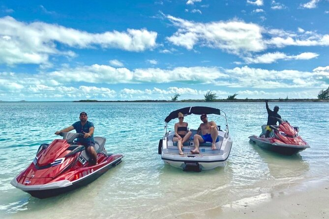 Private Jet Boat Tour in Long Bay Beach