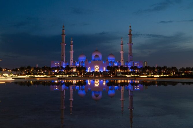 Abu Dhabi City Tour And Visit of Sheikh Zayed Mosque Full Day, Private