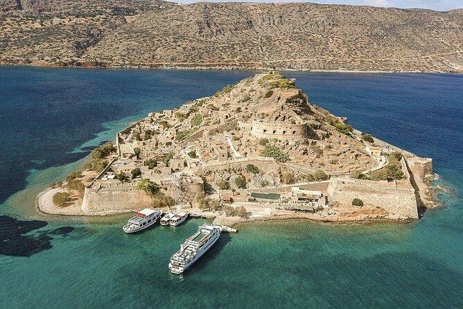 Private Tour Crete, visit the Minoan Palace of Malia, Elounda, Spinaloga Island