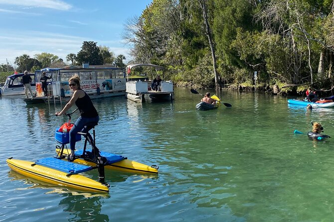 Water Bike Rental in Crystal River
