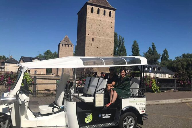 Tour of Strasbourg by Tuk Tuk with Audio Guide