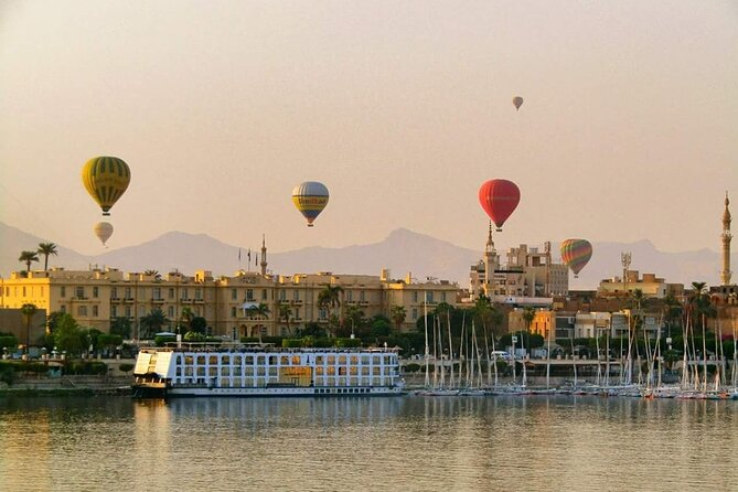 Enjoy 2 Days Luxor tours,Hot air balloon,Daily lunch&Train tickets from Cairo