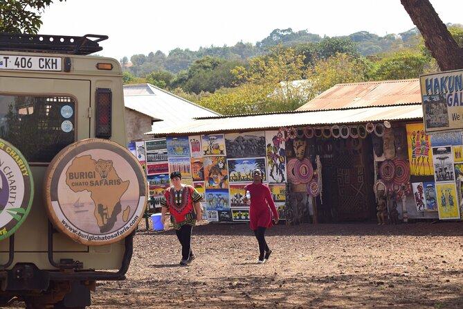 Arusha Shopping - TANZANITE, Maasai, Curio Market with BURIGI CHATO SAFARIS LTD