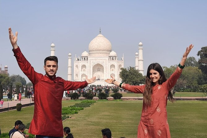 Guided Taj Mahal & Agra Fort With Mother Teresa's Missionaries Tour From Delhi