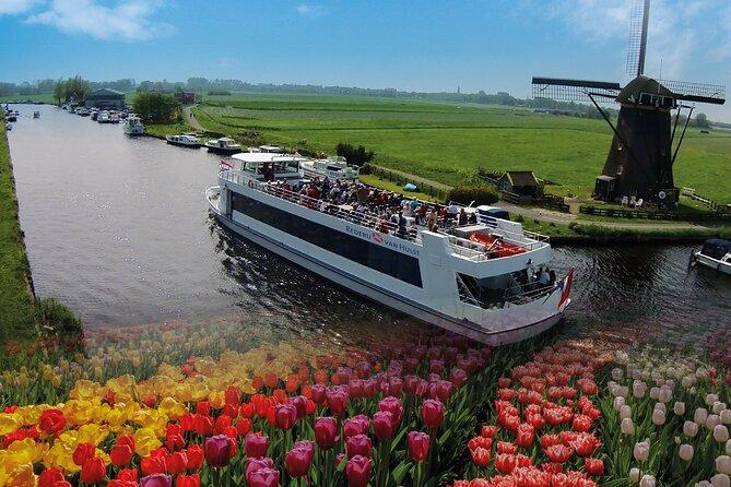 Cruise with Keukenhof Entrance Ticket in Amsterdam Lakes