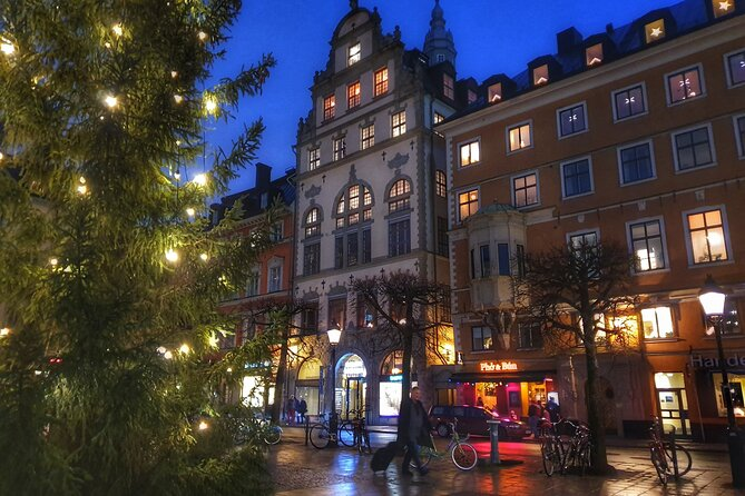 Christmas City Walk in the Stockholm Old Town