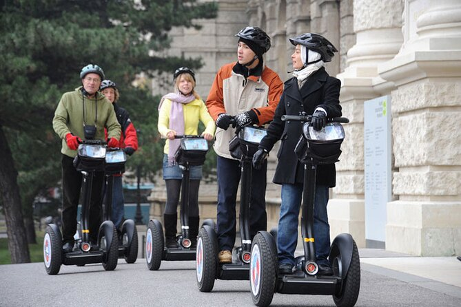 Segway Tour Vienna in Winter