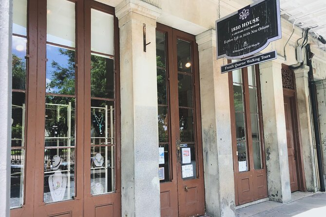 French Quarter Walking Tour With 1850 House Museum Admission