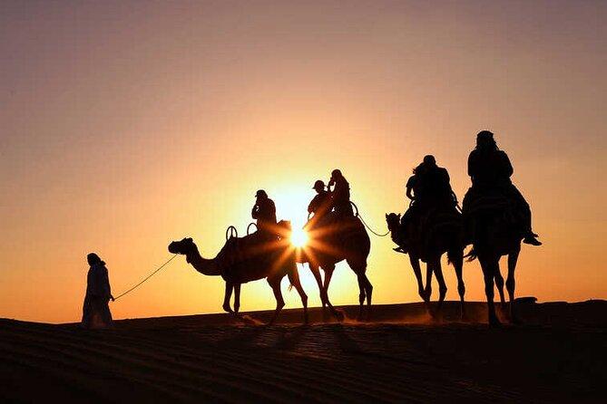 Morning Desert Safari, 25-Minutes Quad Bike and 20-Minutes Camel Ride