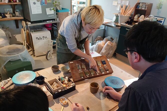 Pottery in a Contemporary Workshop Facing The Seto Sea