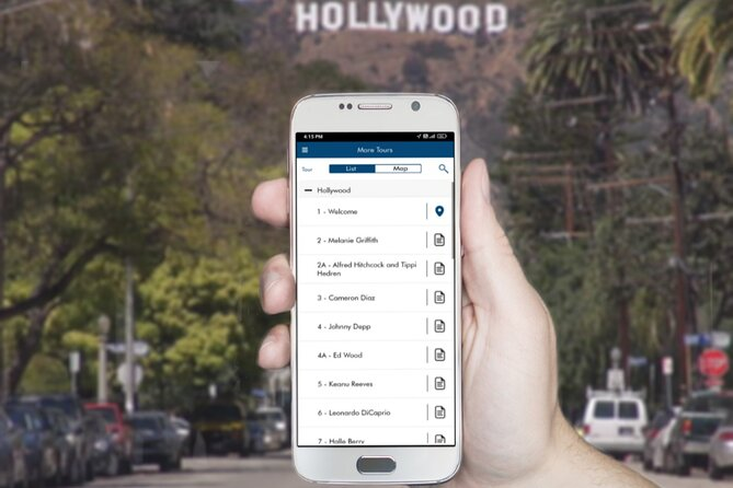 Hollywood Celebrity & Star Homes Self-Guided Driving Tour