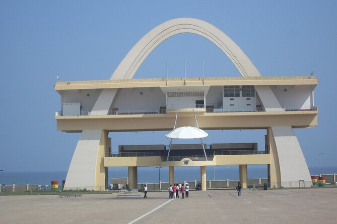 Independence Arch at the Independence Square, Accra.