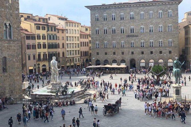 Walking tour in Florence