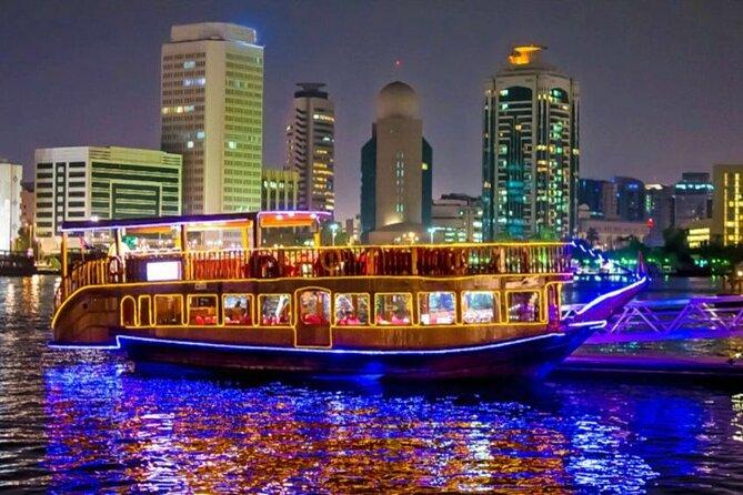 Dubai Dhow Cruise Dinner - Marina