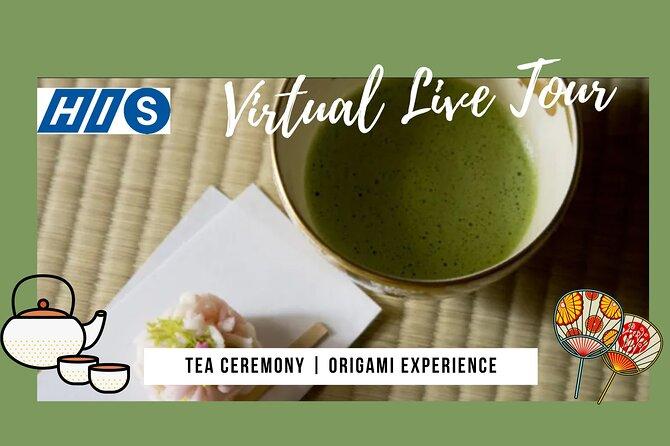【Virtual Live】Tea ceremony & Origami ~Sado~ / JAPANESE CULTURE EXPERIENCE