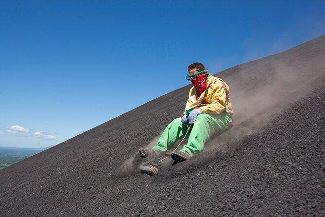 Cerro Negro and Volcano Sand Boarding from León