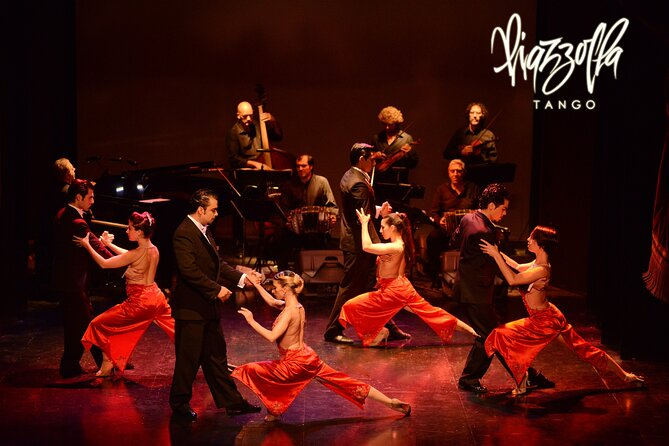 Piazzolla Tango Show with Optional Dinner