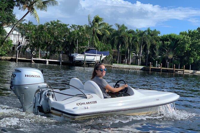 Mini Powerboat Rental