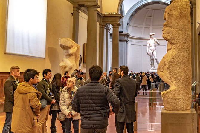 Half-Day Uffizi and Accademia Small-Group Guided Tour