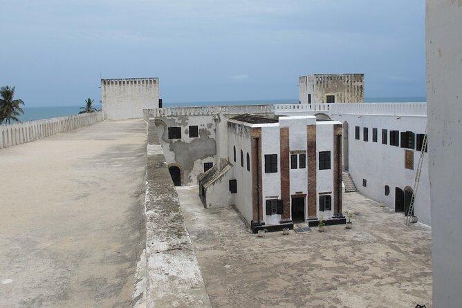 Interior view of church in Elmina Castle