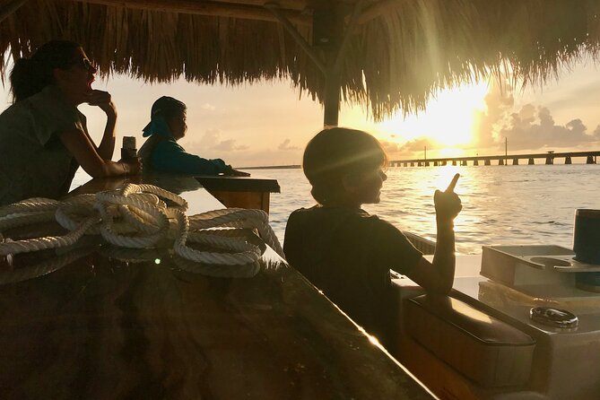 2-Hour Private Sunset Cruise on Tiki Bar Boat in Key West