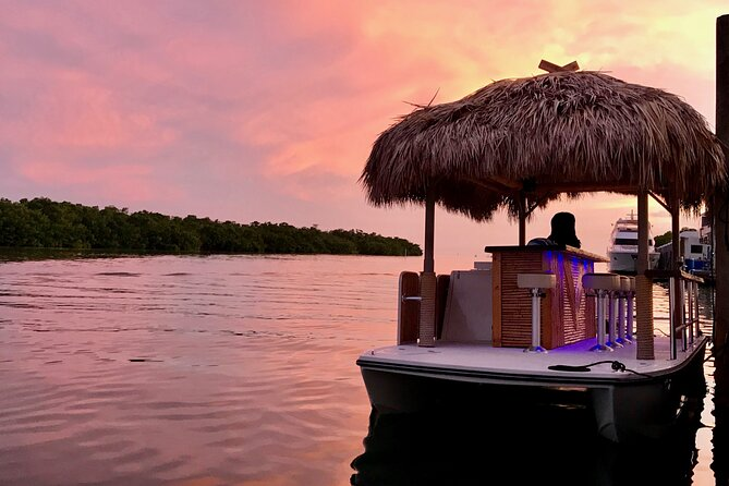 2-Hour Private Sunset Cruise on a Tiki Bar Boat in Key West
