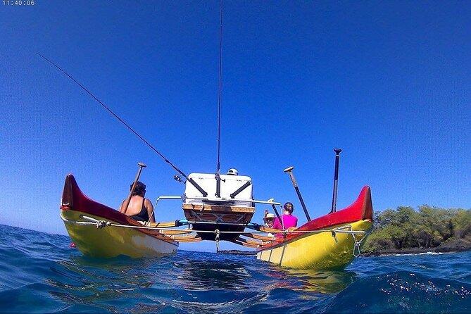 Hawaiian Double Hull Hawaiian Canoe and Snorkel Adventure