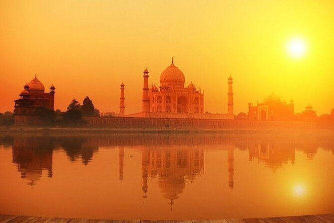 Sunrise and Sunset at Taj with cultural show