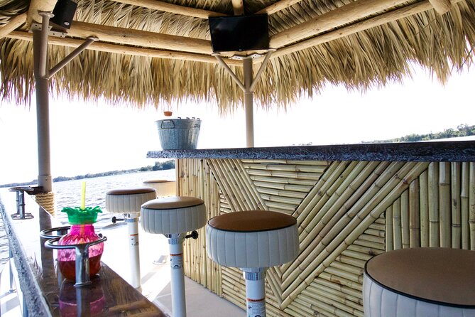2-Hour Private Sunset Cruise in Florida Keys on Tiki Bar Boat