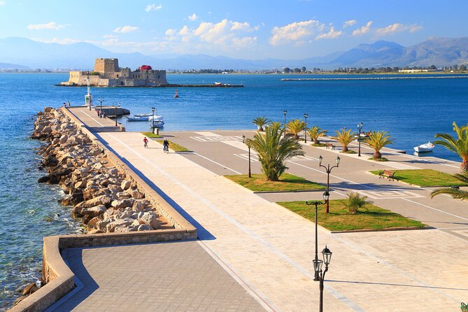 Private Leisure Day Trip to Corinth Canal - Nauplion - Tolo Beach