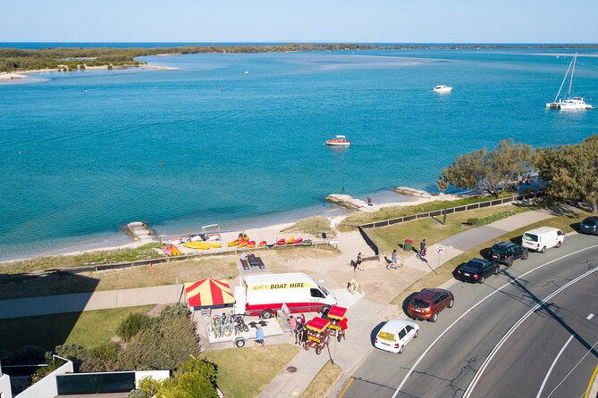 1 Hour Single or Double Kayak Rental to the Nth Bribie Island