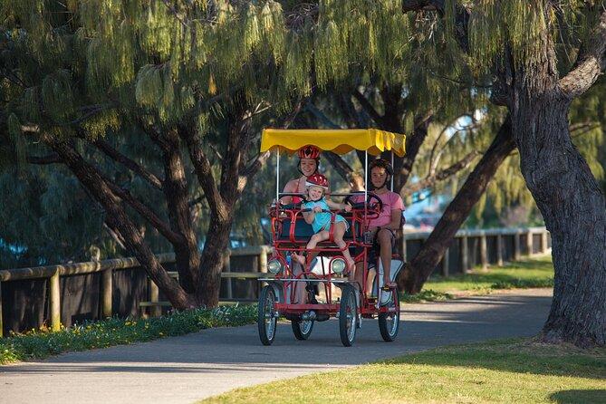 Unique 4 Wheeler Surrey Bike Rental