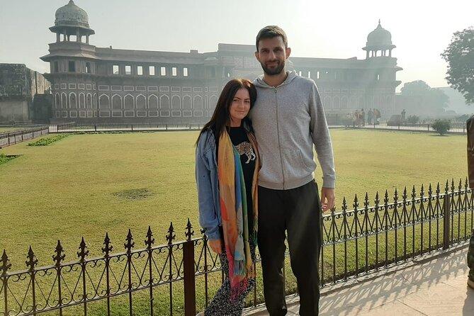 Full day Taj & Fort tour from Jaipur