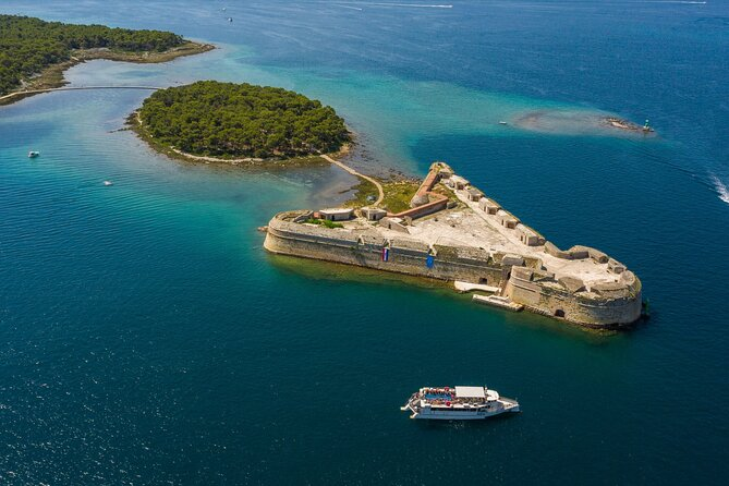 Krka Waterfalls National Park Boat Tour from Vodice