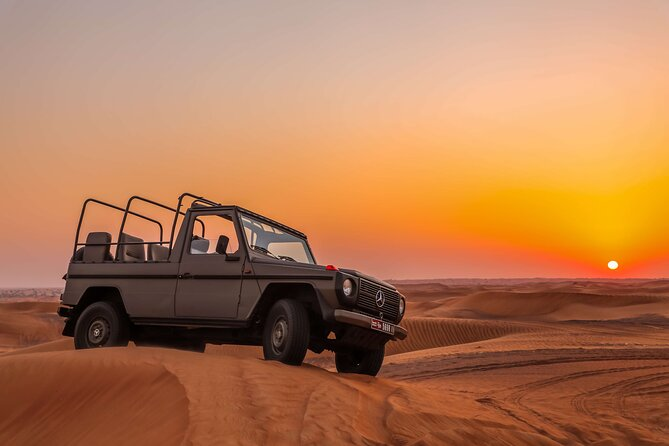 Dubai: 4 Hours Heritage Desert Safari with Bedouin Experience