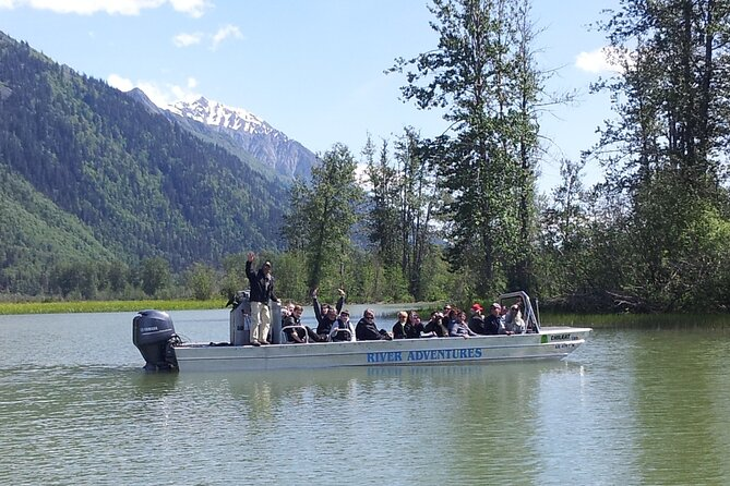 Jet Boat Adventure and Raptor Expedition - Haines Departure