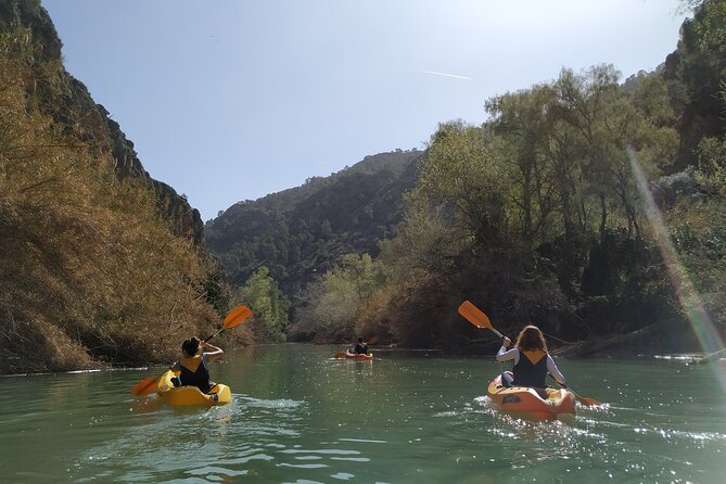 Descent of the Canyon of the Almadenes in Calasparra
