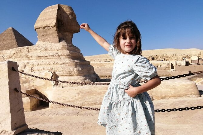 Day Tour to Giza Pyramids with Camel-Ride