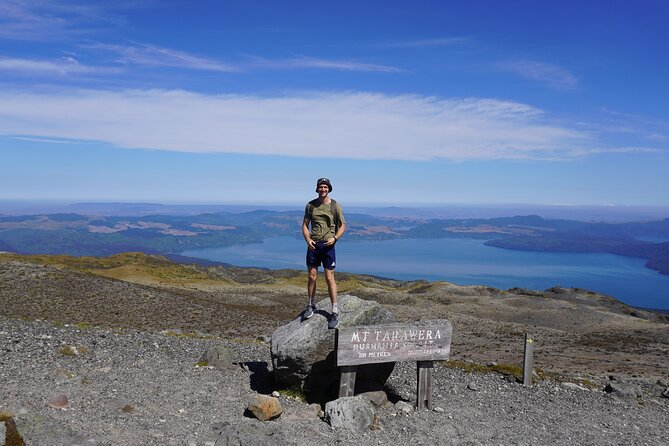 Mt Tarawera Volcanic Guided Hike Experience