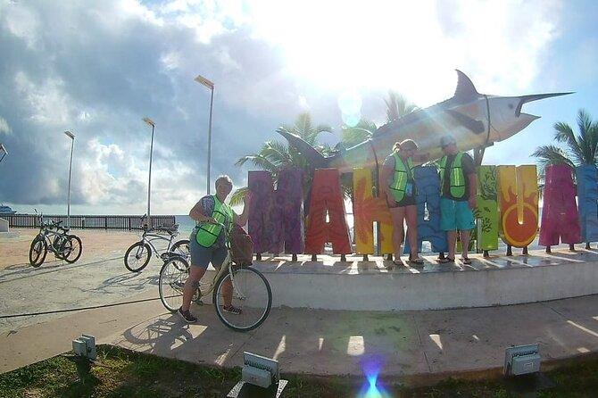 Costa Maya Bike Tour + Paddle & beach Day Combo! Free transportation