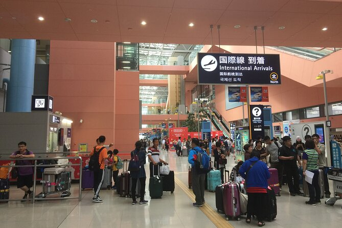 Pick-up from your arrival to Kansai Airport to your hotel