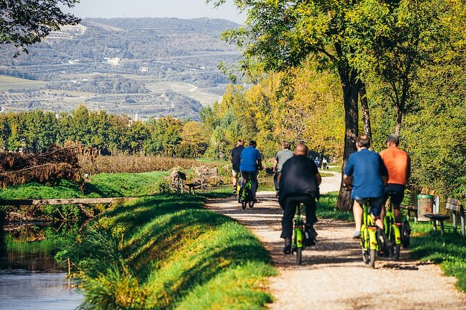 Verona Countryside e-Bike Tour and Amarone Wine-tasting
