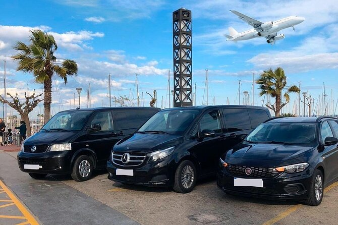 Transfertaxi: luchthaven Venetië Marco Polo (VCE) - La Spezia [maximaal 8 personen]